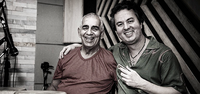 Jefferson Gonçalves e Laudir de Oliveira no Festival Jazz & Blues 2015